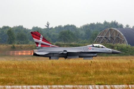 RDAF F-16 Fighting Falcon #1 (Photo: Palle Nørby Christensen)