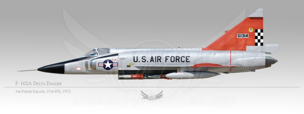 F-102A Delta Dagger, Air Forces Iceland, 57th Fighter Interceptor Squadron, 1972