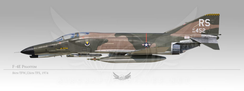 F-4E Phantom, 86th Tactical Fighter Wing, 526th Tactical Fighter Squadron, 1974